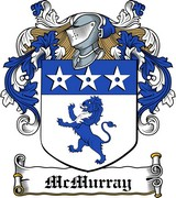 Thumbnail McMurray Family Crest / Irish Coat of Arms Image Download