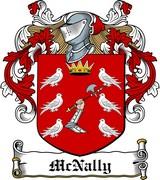 Thumbnail McNally Family Crest / Irish Coat of Arms Image Download