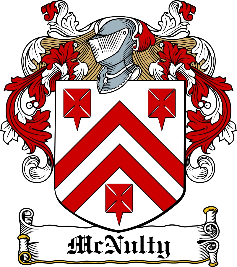 Thumbnail McNulty Family Crest / Irish Coat of Arms Image Download