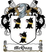 Thumbnail McQuay Family Crest / Irish Coat of Arms Image Download