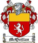Thumbnail McQuillan Family Crest / Irish Coat of Arms Image Download
