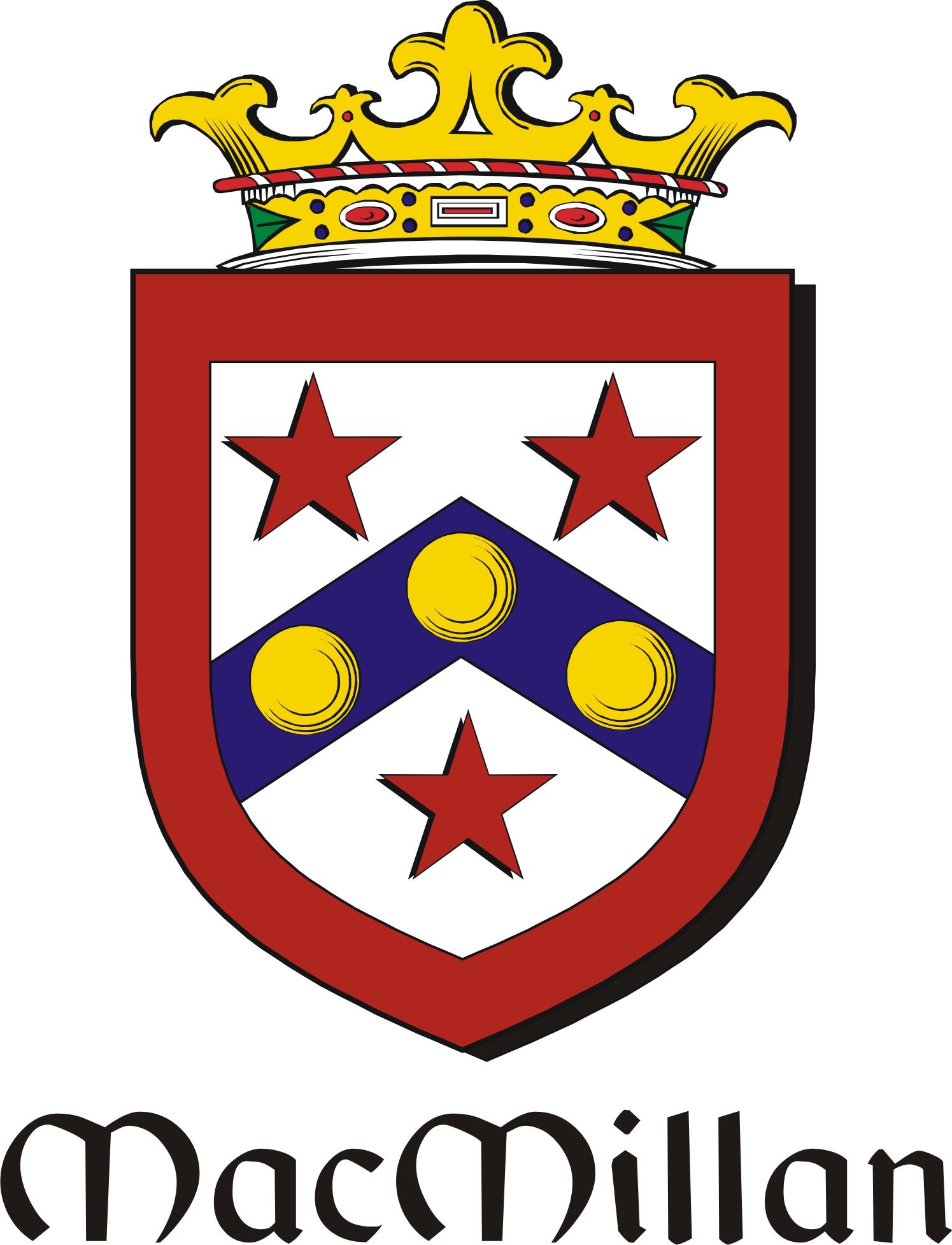 Thumbnail Millan-Mac Family Crest / Irish Coat of Arms Image Download