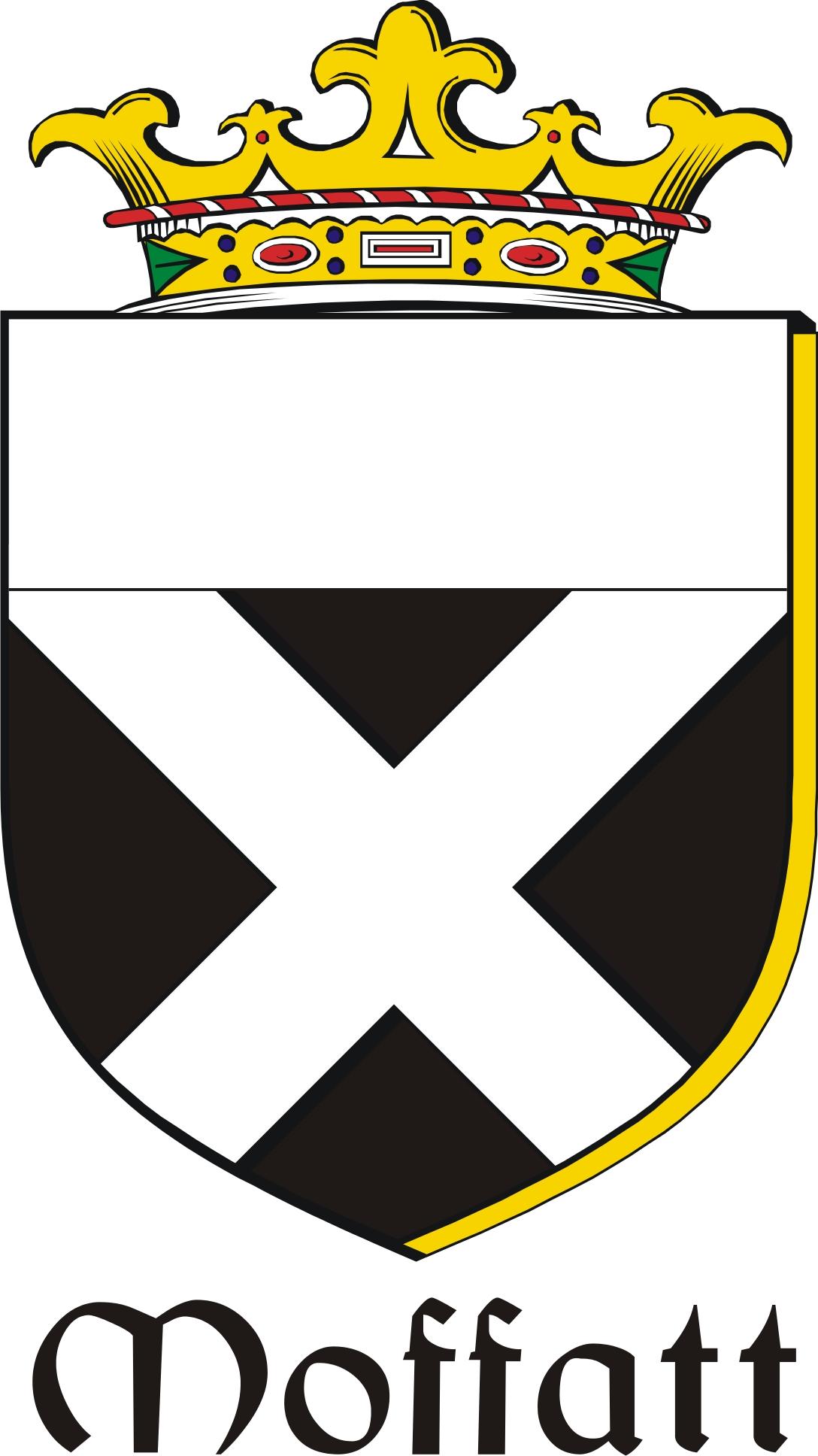 Thumbnail Moffatt Family Crest / Irish Coat of Arms Image Download