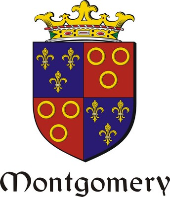 Thumbnail Montgomery Family Crest / Irish Coat of Arms Image Download