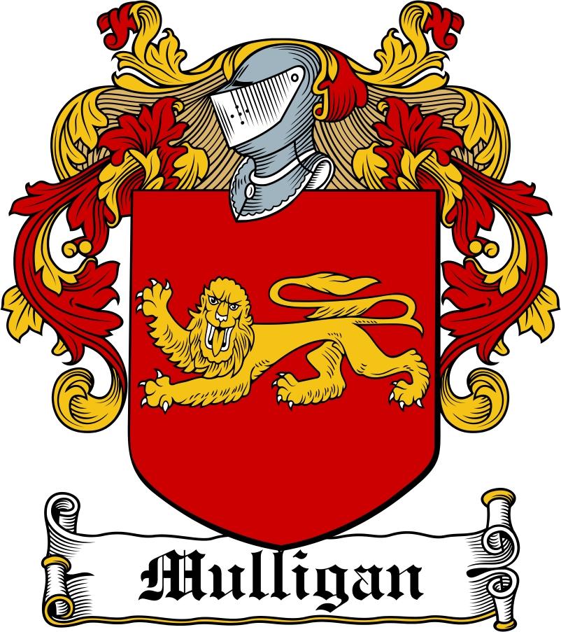 Thumbnail Mulligan Family Crest / Irish Coat of Arms Image Download