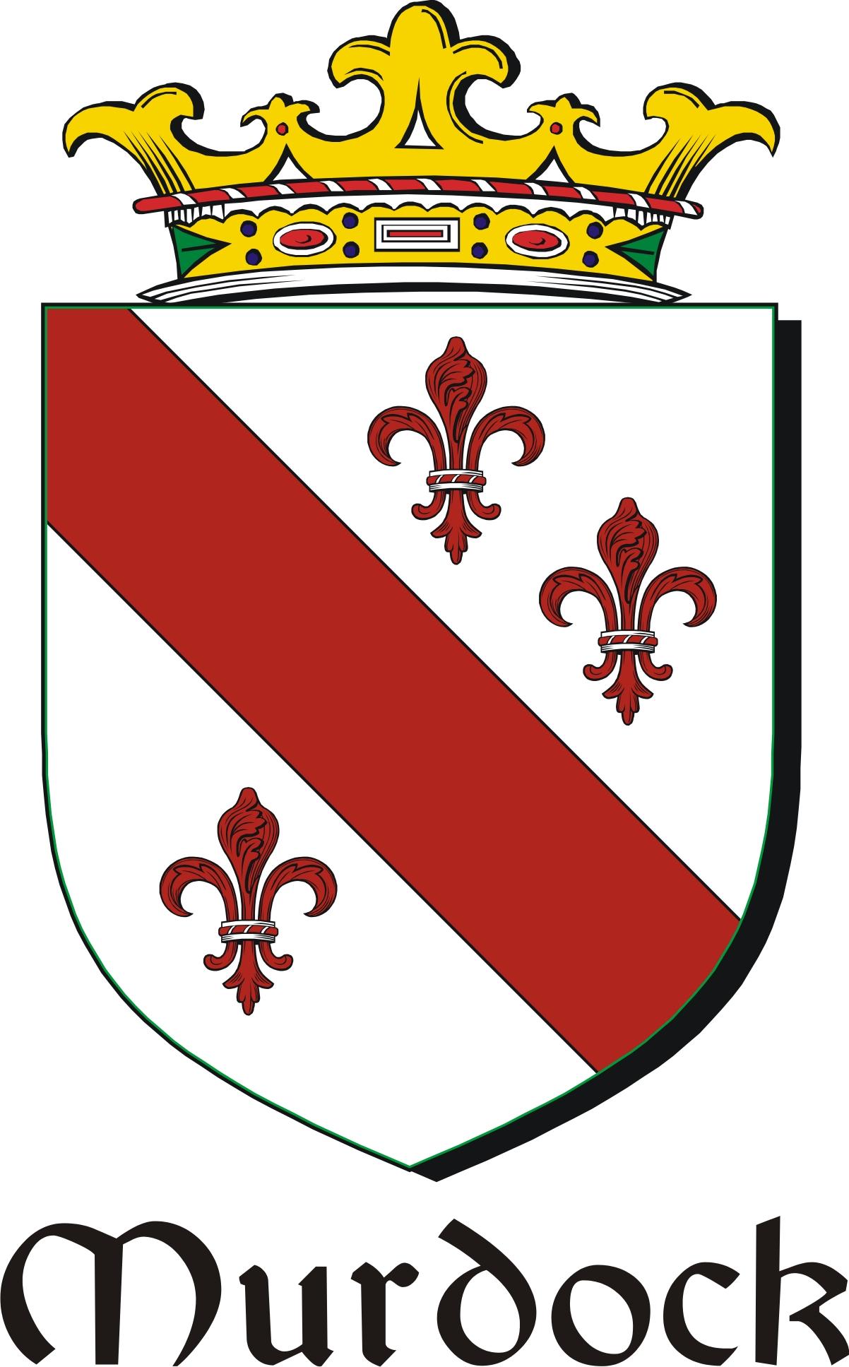 Thumbnail Murdock Family Crest / Irish Coat of Arms Image Download