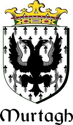 Thumbnail Murtagh Family Crest / Irish Coat of Arms Image Download