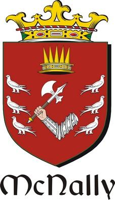 Thumbnail Nally-Mac Family Crest / Irish Coat of Arms Image Download