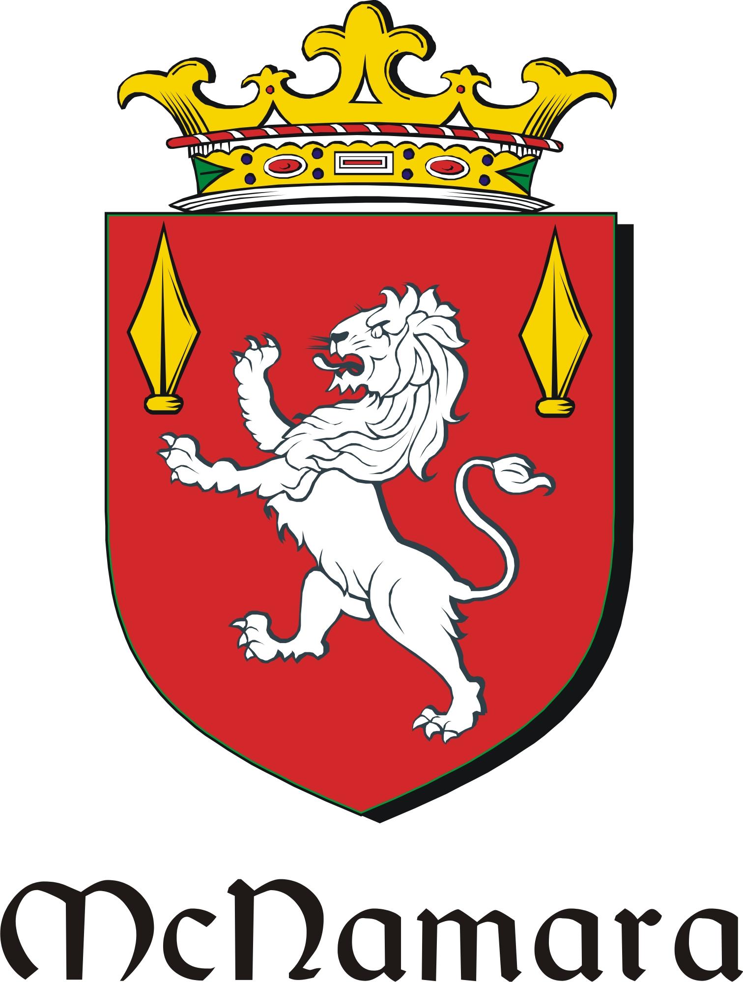 Thumbnail Namara-Mac Family Crest / Irish Coat of Arms Image Download