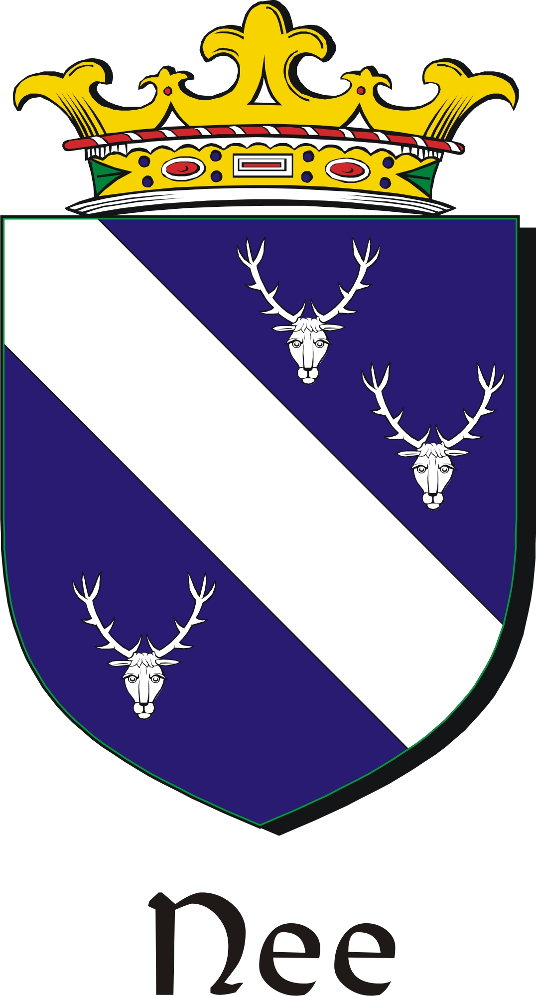 Thumbnail Nee Family Crest / Irish Coat of Arms Image Download