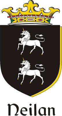 Thumbnail Neilan Family Crest / Irish Coat of Arms Image Download