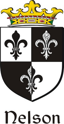 Thumbnail Nelson Family Crest / Irish Coat of Arms Image Download