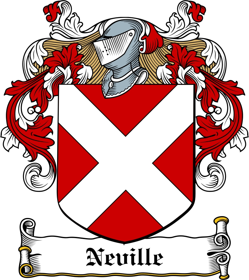 Thumbnail Neville Family Crest / Irish Coat of Arms Image Download