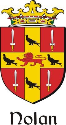 Thumbnail Nolan Family Crest / Irish Coat of Arms Image Download
