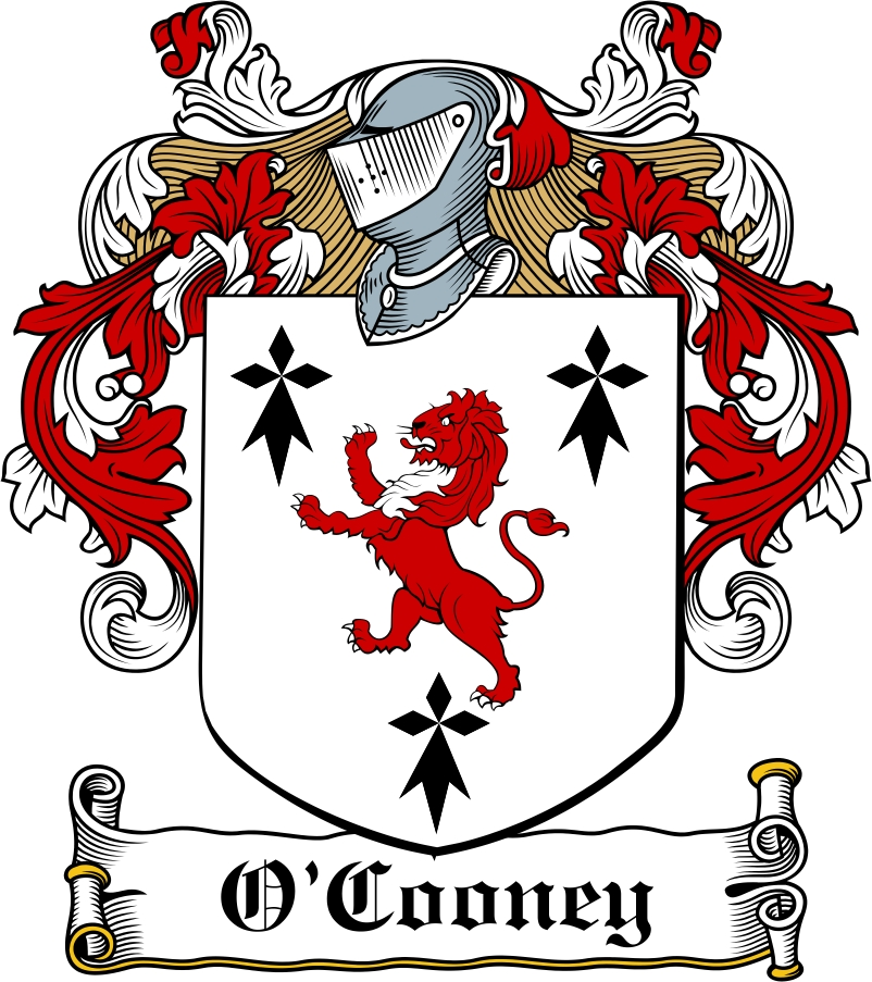 Thumbnail O'Cooney Family Crest / Irish Coat of Arms Image Download
