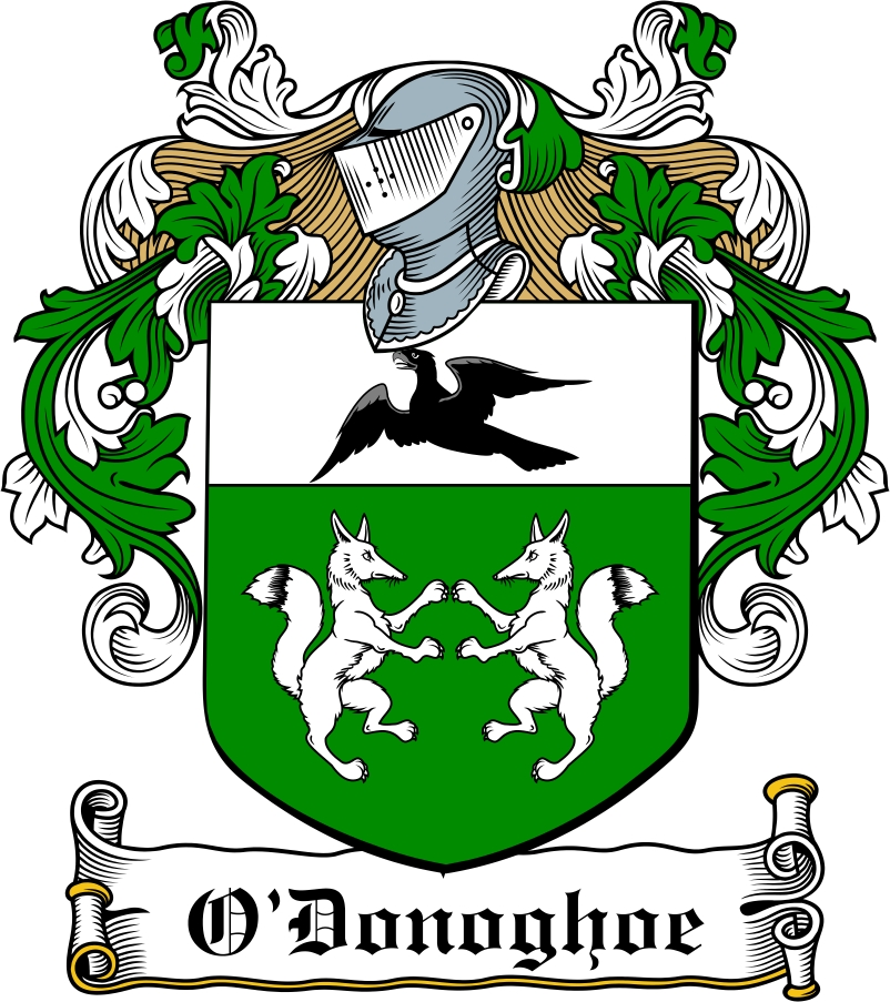 Thumbnail O'Donoghoe Family Crest / Irish Coat of Arms Image Download
