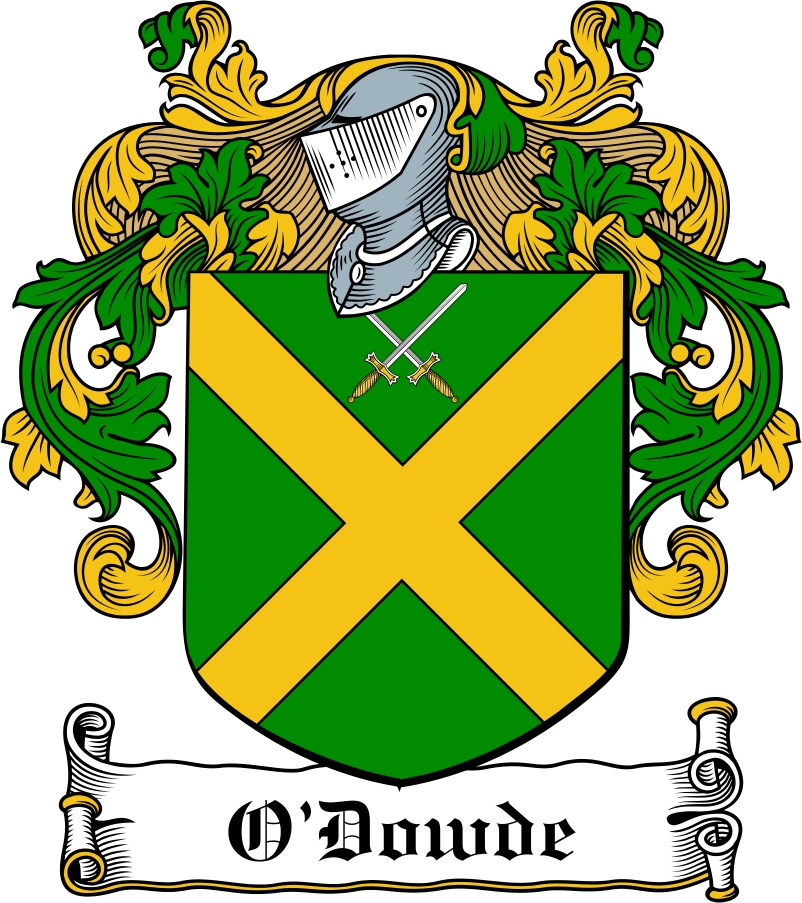 Thumbnail O'Dowde Family Crest / Irish Coat of Arms Image Download