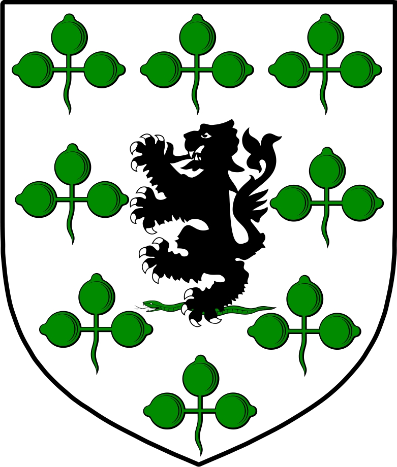 Thumbnail O'Gallagher Family Crest / Irish Coat of Arms Image Download
