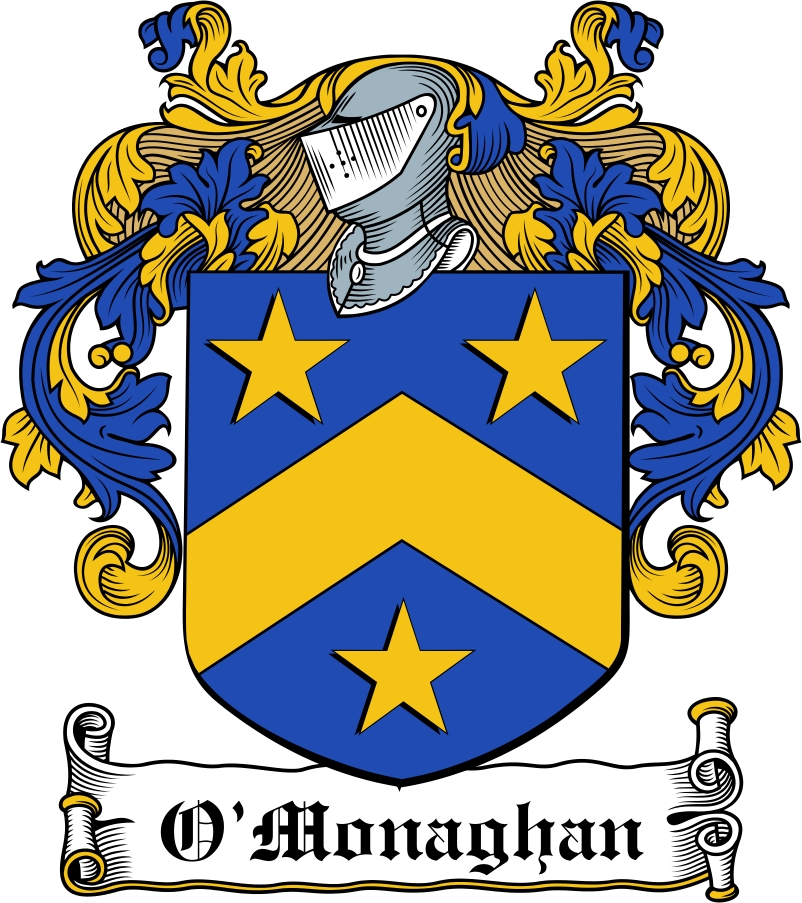 Thumbnail O'Monaghan Family Crest / Irish Coat of Arms Image Download