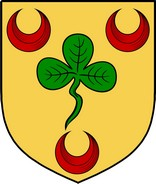 Thumbnail Odell Family Crest / Irish Coat of Arms Image Download