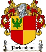 Thumbnail Packenham Family Crest / Irish Coat of Arms Image Download