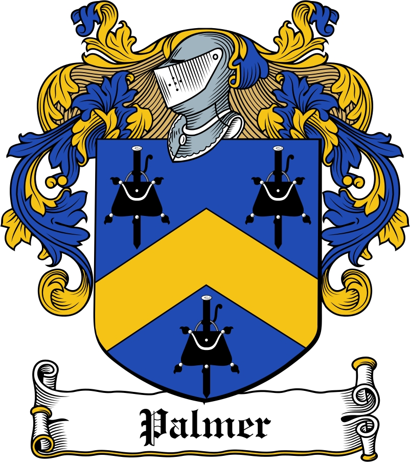 Thumbnail Palmer Family Crest / Irish Coat of Arms Image Download