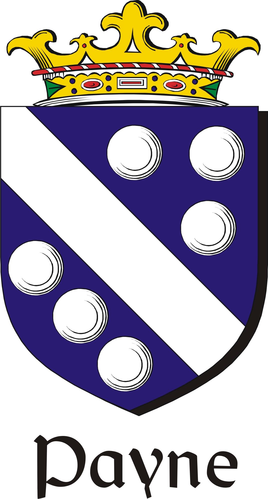 Thumbnail Payne Family Crest / Irish Coat of Arms Image Download