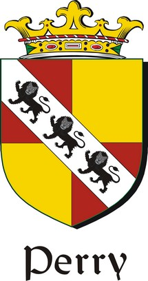 Thumbnail Perry Family Crest / Irish Coat of Arms Image Download