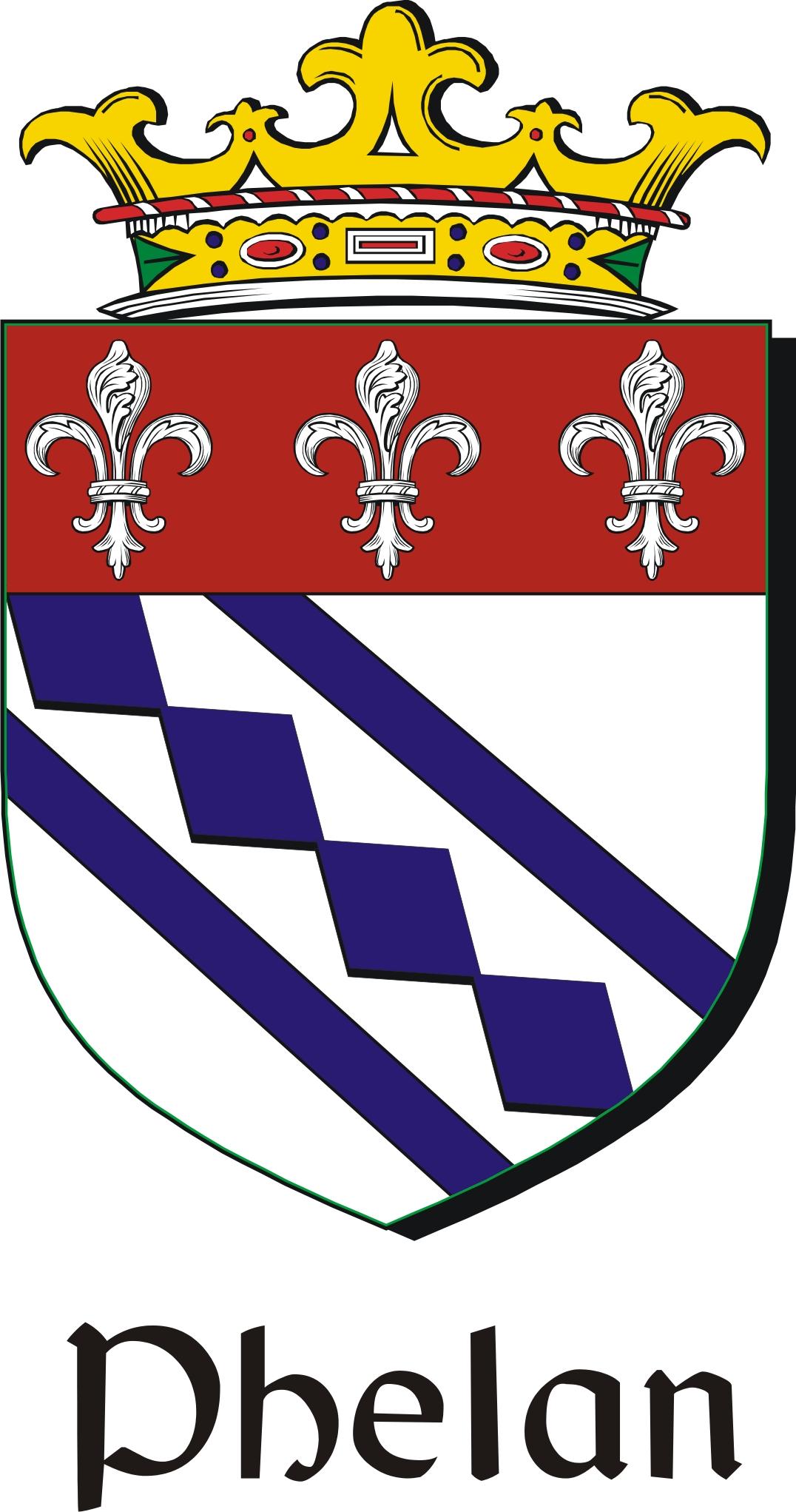 Thumbnail Phelan Family Crest / Irish Coat of Arms Image Download
