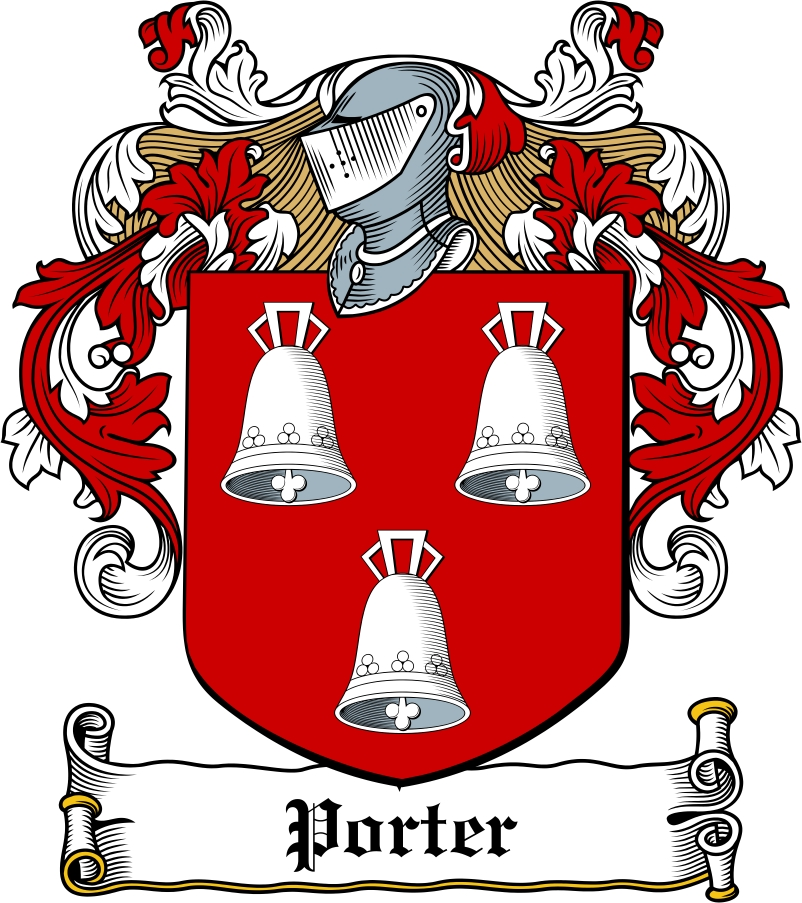 Thumbnail Porter Family Crest / Irish Coat of Arms Image Download