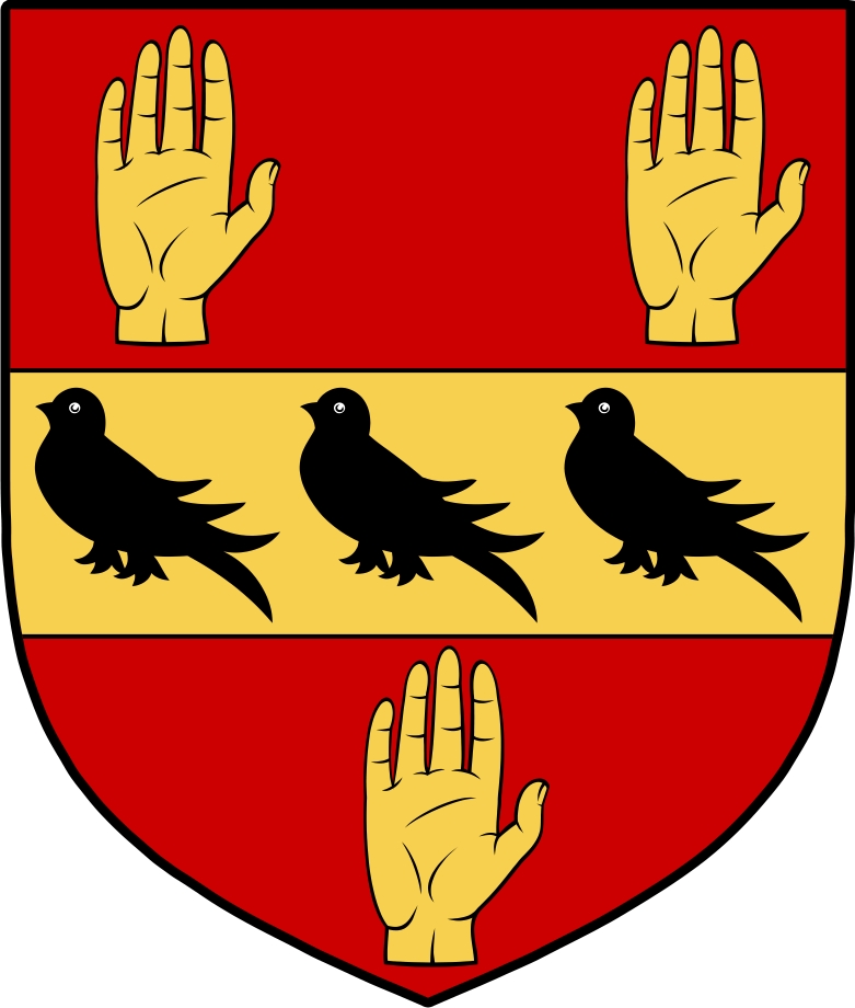 Thumbnail Quartermaines Family Crest / Irish Coat of Arms Image Download