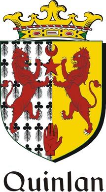 Thumbnail Quinlan Family Crest / Irish Coat of Arms Image Download