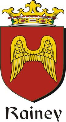 Thumbnail Rainey Family Crest / Irish Coat of Arms Image Download