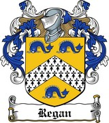 Thumbnail Regan Family Crest / Irish Coat of Arms Image Download