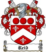 Thumbnail Reid Family Crest / Irish Coat of Arms Image Download