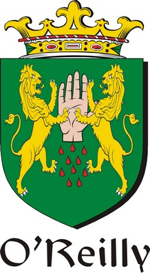 Thumbnail Reilly-O Family Crest / Irish Coat of Arms Image Download