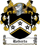 Thumbnail Roberts Family Crest / Irish Coat of Arms Image Download