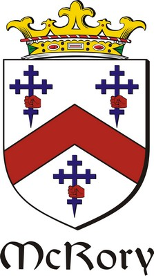 Thumbnail Rory-Mc Family Crest / Irish Coat of Arms Image Download