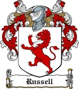 Thumbnail Russell Family Crest / Irish Coat of Arms Image Download