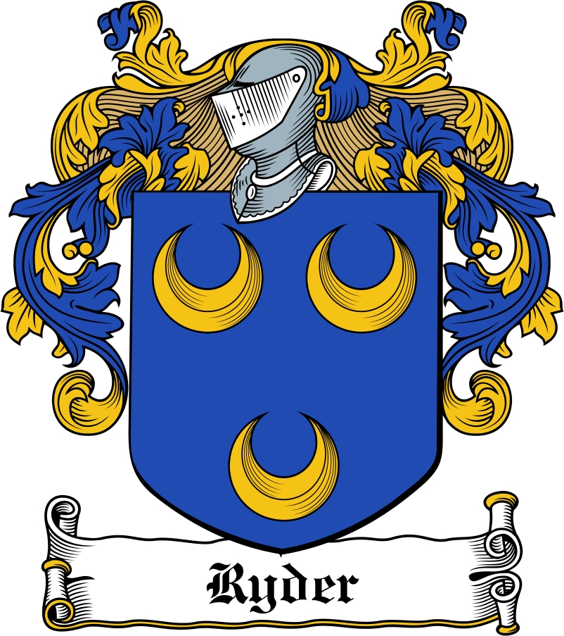 Thumbnail Ryder Family Crest / Irish Coat of Arms Image Download