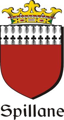 Thumbnail Spillane Family Crest / Irish Coat of Arms Image Download