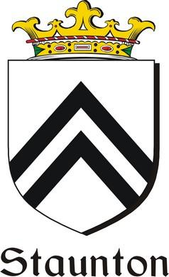 Thumbnail Staunton Family Crest / Irish Coat of Arms Image Download