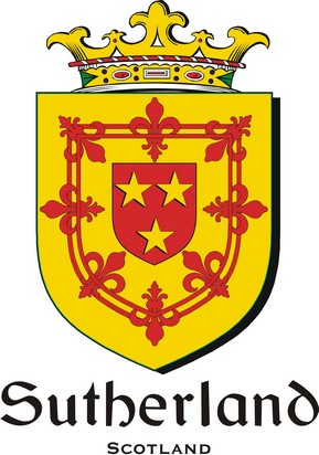 Thumbnail Sutherland Family Crest / Irish Coat of Arms Image Download