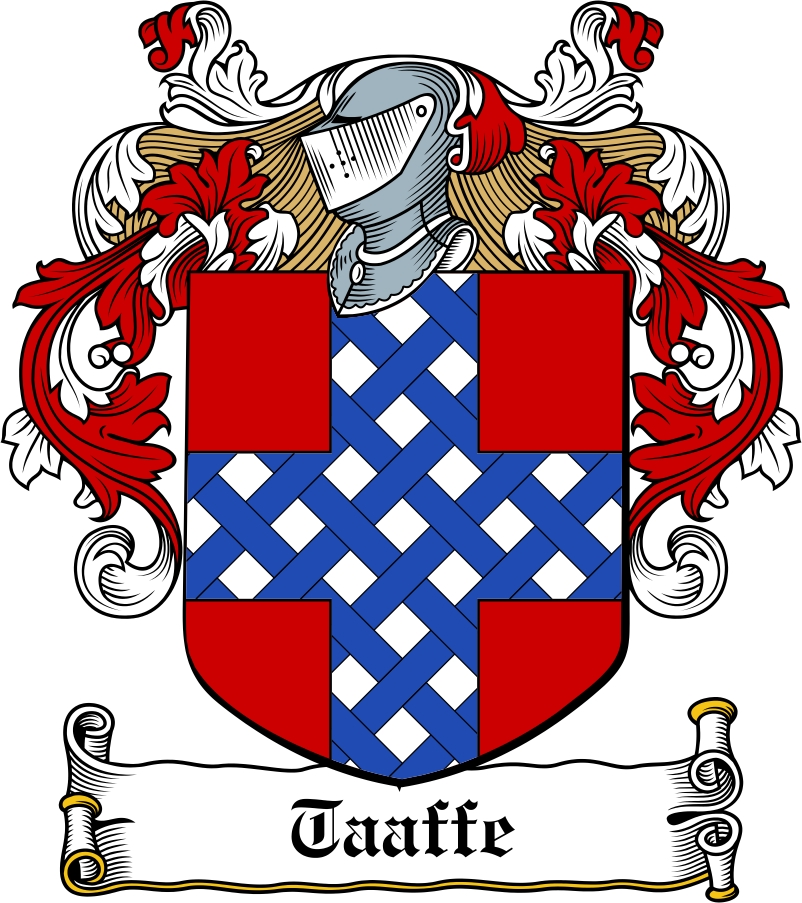Thumbnail Taaffe Family Crest / Irish Coat of Arms Image Download