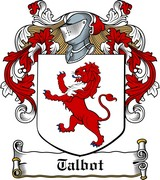 Thumbnail Talbot Family Crest / Irish Coat of Arms Image Download