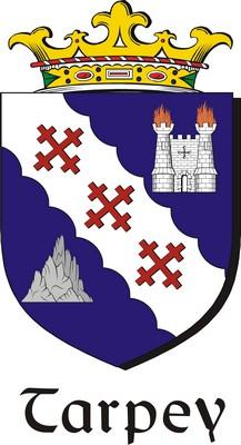Thumbnail Tarpey Family Crest / Irish Coat of Arms Image Download