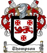Thumbnail Thompson Family Crest / Irish Coat of Arms Image Download