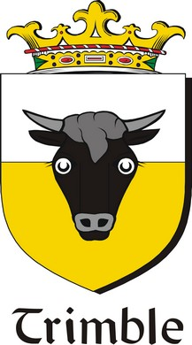 Thumbnail Trimble Family Crest / Irish Coat of Arms Image Download