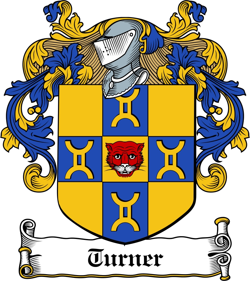 Thumbnail Turner Family Crest / Irish Coat of Arms Image Download