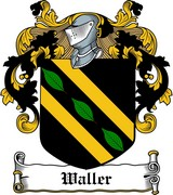 Thumbnail Waller Family Crest / Irish Coat of Arms Image Download
